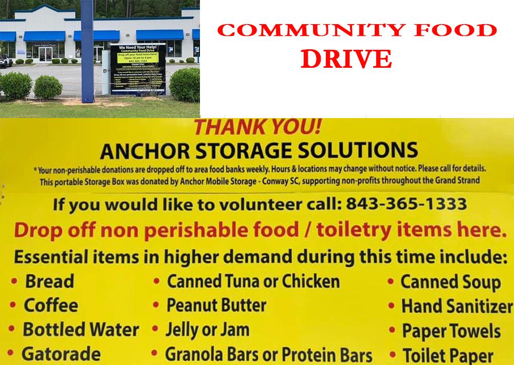 community food drive