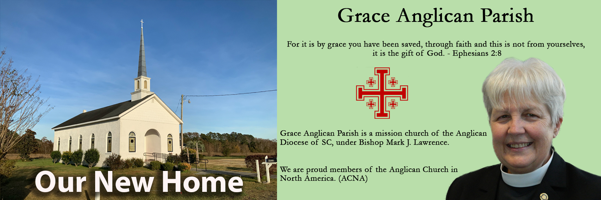 Grace Church new home announcement